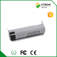 100% original NCR18650 2900mah 18650 Li-lon battery with pins