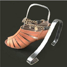Acrylic Shoe Display Stand Sandal Store Supports Shoe Inserts Tree Shaper Forms