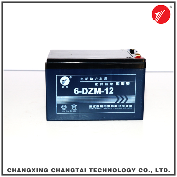 Electric bicycle 12v 12ah lead acid battery