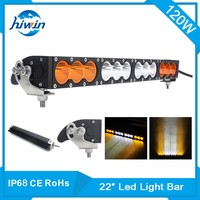 10200 lumen waterproof 120w 21.9inch led light bar for offroad SUV 4*4