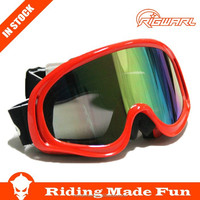 HC Hot Selling Outdoor Sports Protective Safety custom ski goggles With OEM Service on Straps
