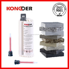 10:1 cartridge glue artificial stone seamless joint adhesive for worktop ,8 years non-yellowing glue