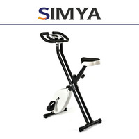 Mini exercise bike magnetic 8-level adjustable tension X-bike with pulse as seen on TV