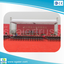 2015 New Exhibition Concert !! Customized Shape truss stage, Roof Truss, Semi circle
