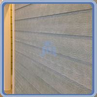 Fiber cement siding Cladding board Wood grain