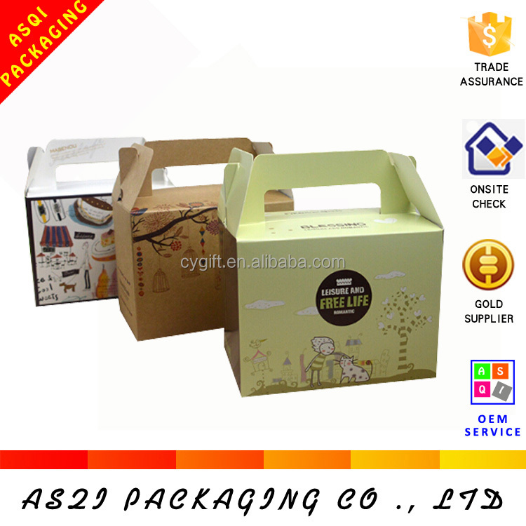 China custom made personlized cupcake boxes