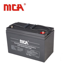 Good quality 12v solar power/rechargeable/gel/dry lead acid battery 100ah