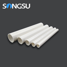Popular size PVC electrical pipe and fitting for electrical installations