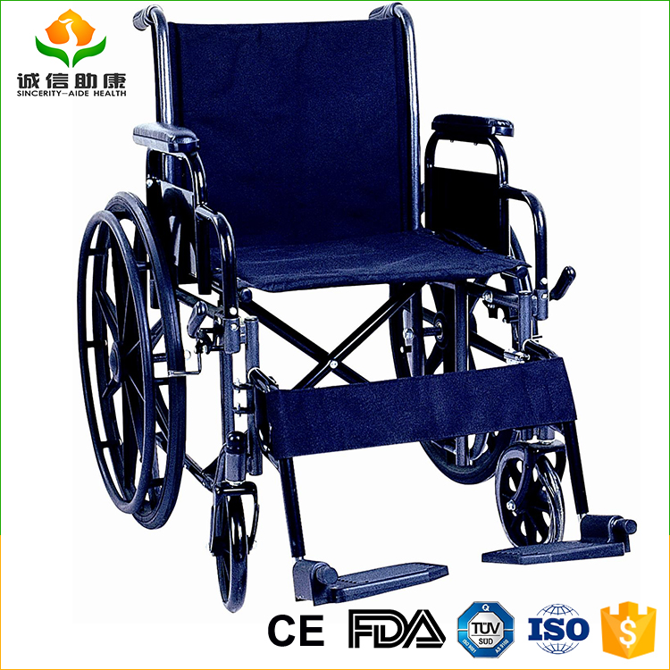 Deluxe modern high-quality reclining wheelchair, invalid wheelchair, wheel chair