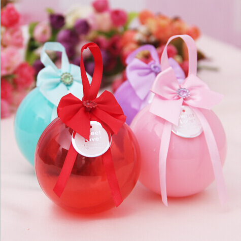 Lovely wedding souvenirs candy box