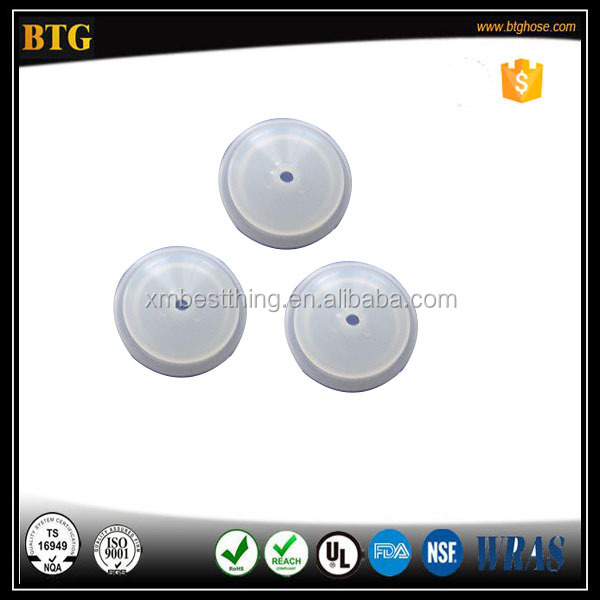 High Precision Custom food grade clear silicone grommet