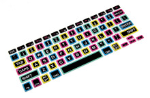 "New Arrival US Silicone Keyboard Skin Cover for Macbook Air / Pro 13.3 "" 15 "" 17 """