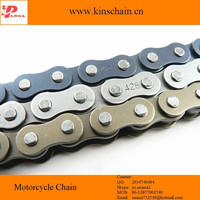 factory price 428 blue four punch motorcycle wheel chain