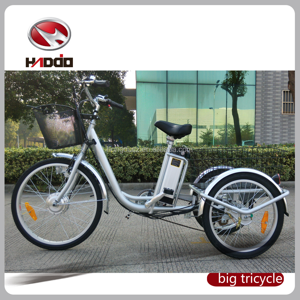 24''handicapped electric bike 36V wholesale electric bicycles