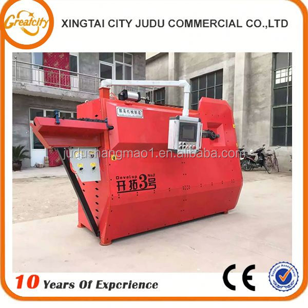 China Famous Brand Factory Directly Rebar Bending Machine, Electric Steel Bar Bender