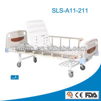 Cheap Price Single Crank hydraulic Manual Hospital Bed