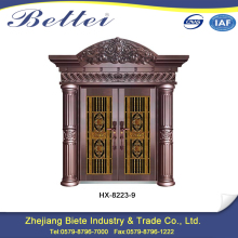 New Product design of main gate of home made of iron security door