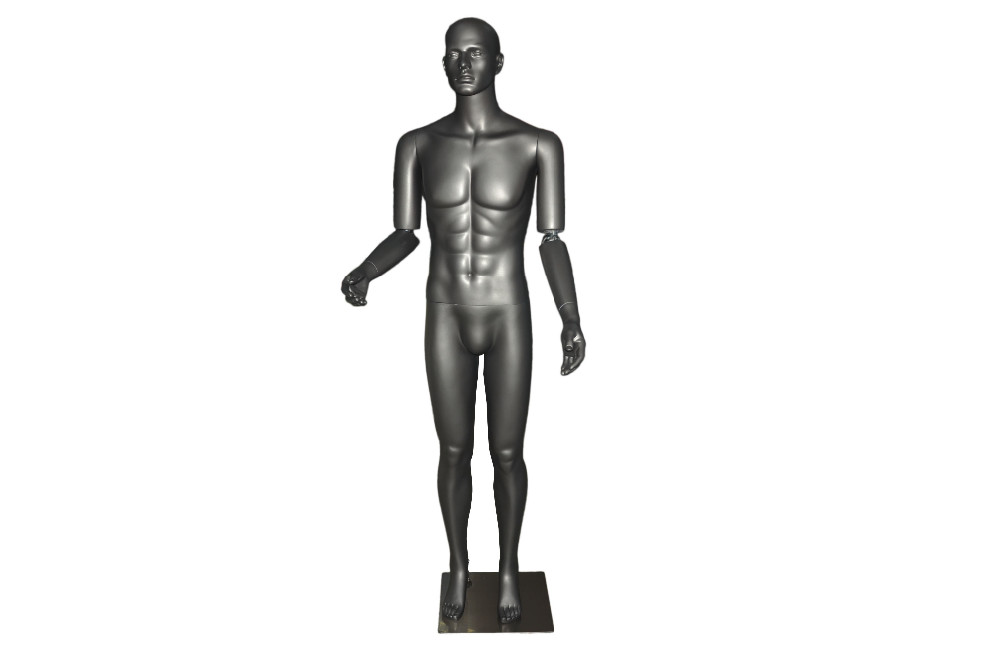 customized clothes store design naked man mannequin