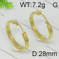 Fashion Newly Popular wholesale gold earrings new model 2012