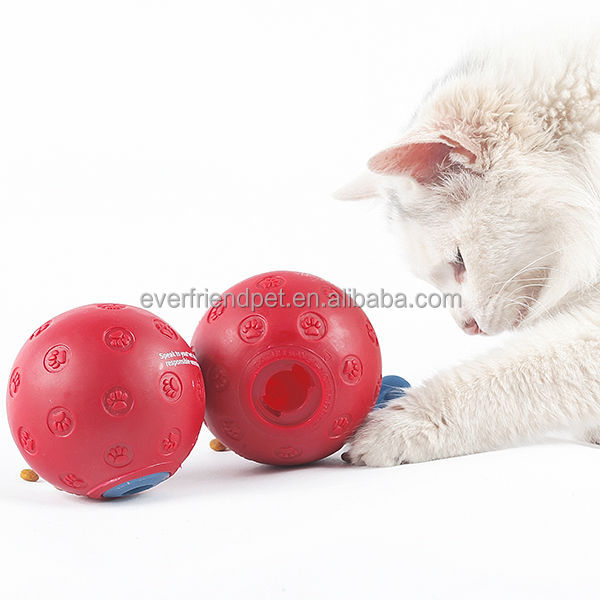 Cat food dispenser,cat ball toy