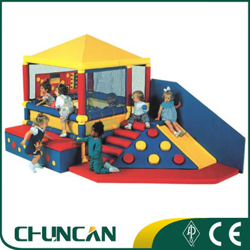 Castle ball pool kids preschool indoor climbing playground soft play equipment