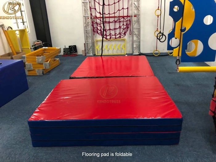 Adventure Play Equipment Playground Ninja Warrior Training Course
