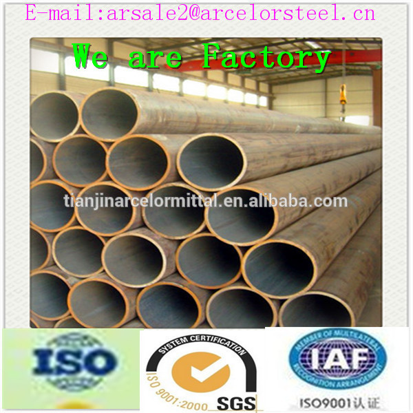 Trade assurance carbon round steel pipe and steel tube/bell end steel pipe