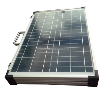 High Quality 40W 50W 60W Foldable 12V Solar Panel Folding Kit for Caravan Boat or Car