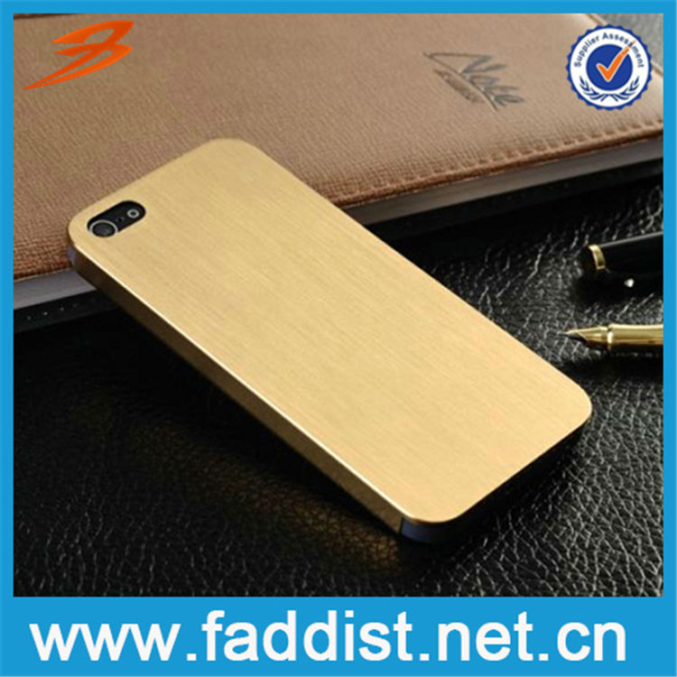 Low Price China Aluminum mobile phone case for iphone 5s