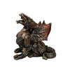 Dragon Collectible Statue Made of Polyresin