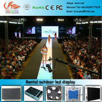 RGX P6 outdoor rental led display/stage background screen/concert stage background led display