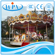 Cheap price carousel ride rotating horse/merry go round/used carousel for sale