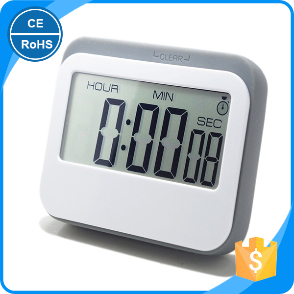 Wholesale Cute Pocket Stopwatch Timer/Stop Clock/Small Timer with 4 Colors