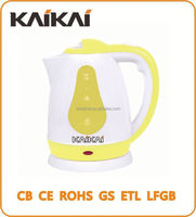 High efficiency plastic electric water kettle/pot/jug
