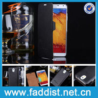 High quality genuine leather for samsung galaxy note 3 letaher case