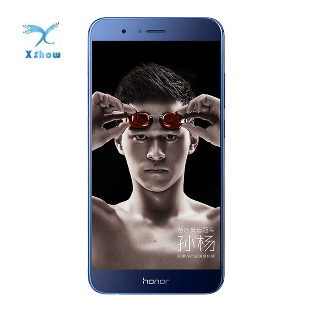 Honor V9 6GB 64GB Global Firmware Kirin 960 Octa Core Mobile Phone 2K Screen 5.7 inch Android 7.0 NFC Fingerprint Cell phone