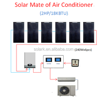 solar air con mate New energy product for home normal air conditioner solar air con partner