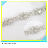 Fabulous 888 Crystal Cup Chain Beads Trim Decorative Women Shoes