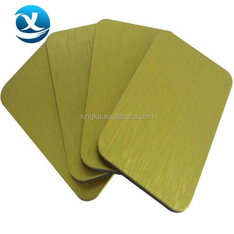 cheap aluminum composite panel with human body brushes
