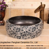 Jingdezhen factory direct wash basin price/toilet basin/pedestal sink