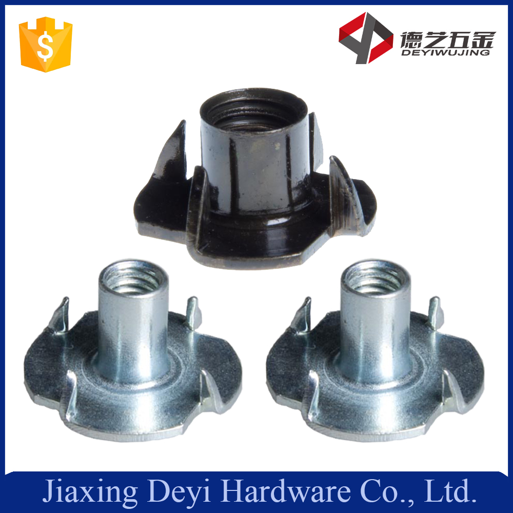 Made In China Stainless Steel 3/8 Furniture T Type Chair Claw Nut