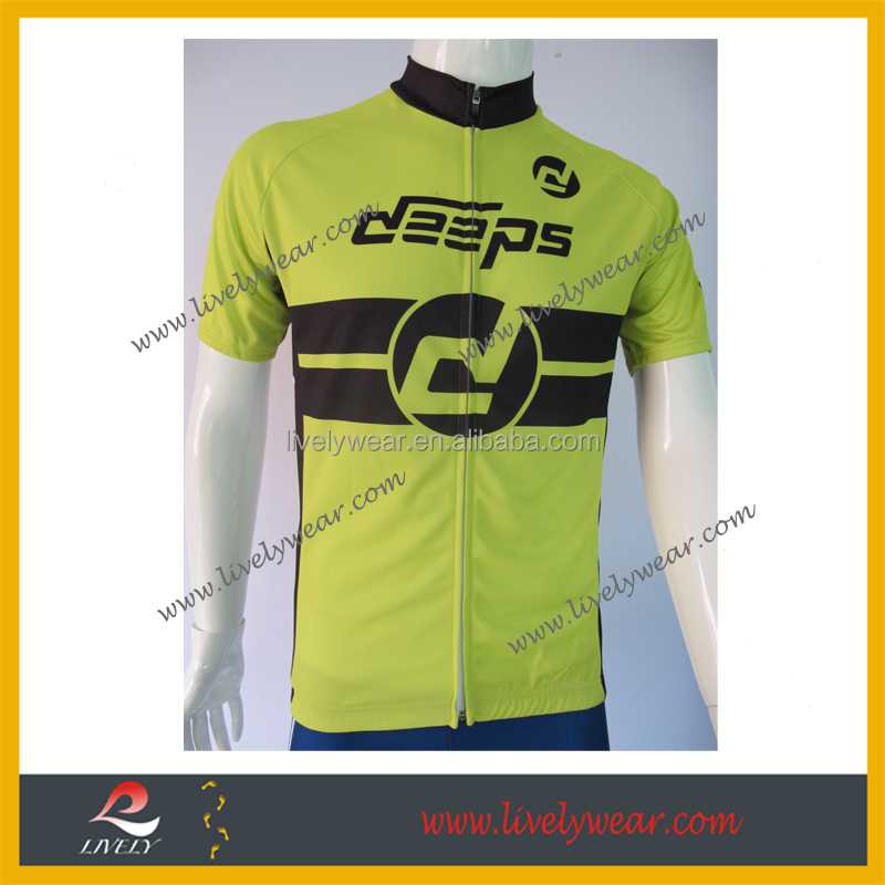 Livelywear--new 100% polyester coolmax bike wear/ cycling jersey with bib shorts/ bicycle clothing