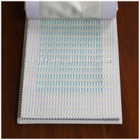 Mesh top ready made flame retardant hospital partition curtain fabric XJY 0675