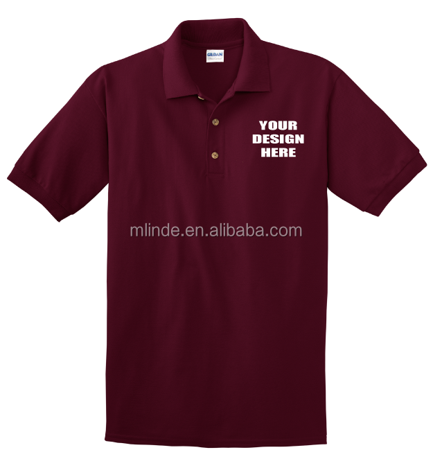 embroidery logo brand name letters Custom printing pique create my own t shirt design polo shirt for women and men