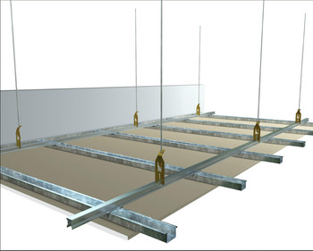 Key Lock Suspended Ceiling System For Australia Market