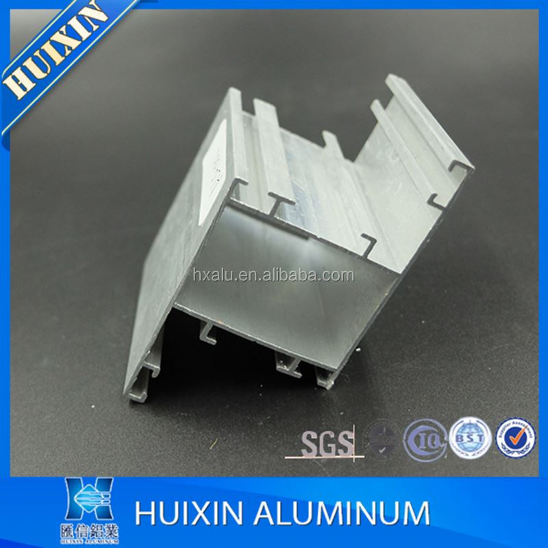 Mill finish aluminium extruded profile windows and doors profile fabrication
