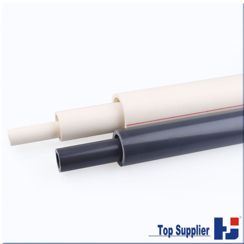 China competitive price customized color top supplier all types water system raw material for the pvc pipe