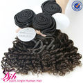 Dijunhair Unprocessed Deep Curl human hair extension ,100% Virgin Brazilian hair