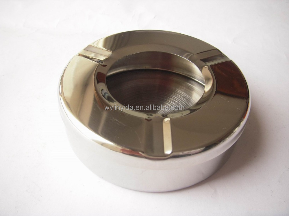 Wholesale Round Stainless Steel Ashtray Windproof