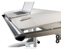 TCT height adjustable desk home and office workstation